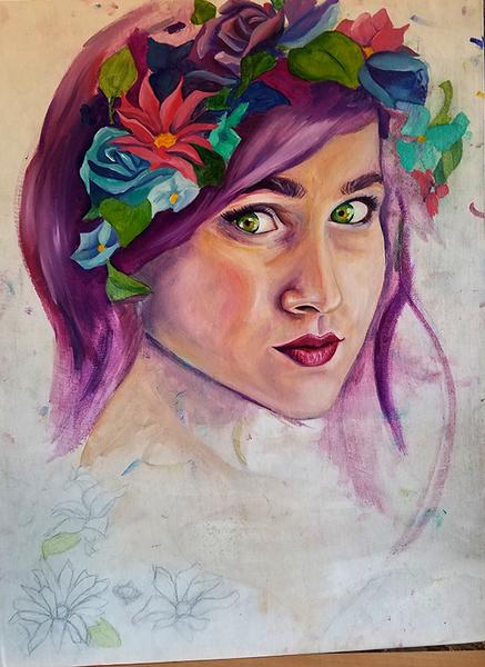 Oil Painting- Portrait