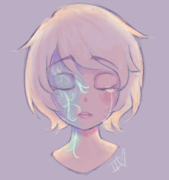 Colored sketch headshot