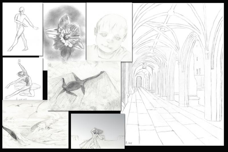 Pencil sketch/illustration
