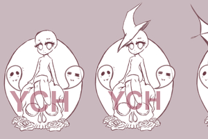 YCH  Special Halloween , Artists\u0026Clients