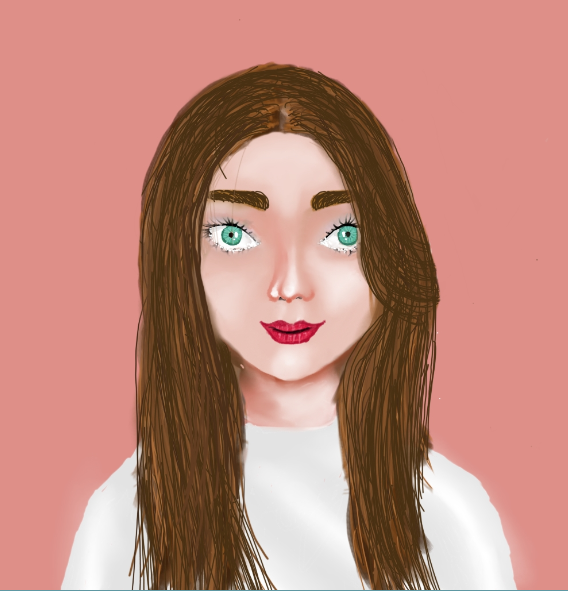 Simple Portrait Painting