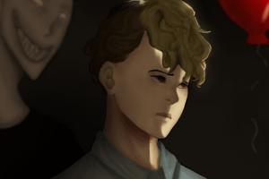 Eerie Painted Portraits