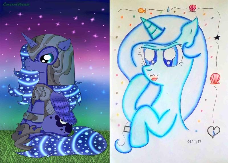 Traditional/Digital My Little Pony