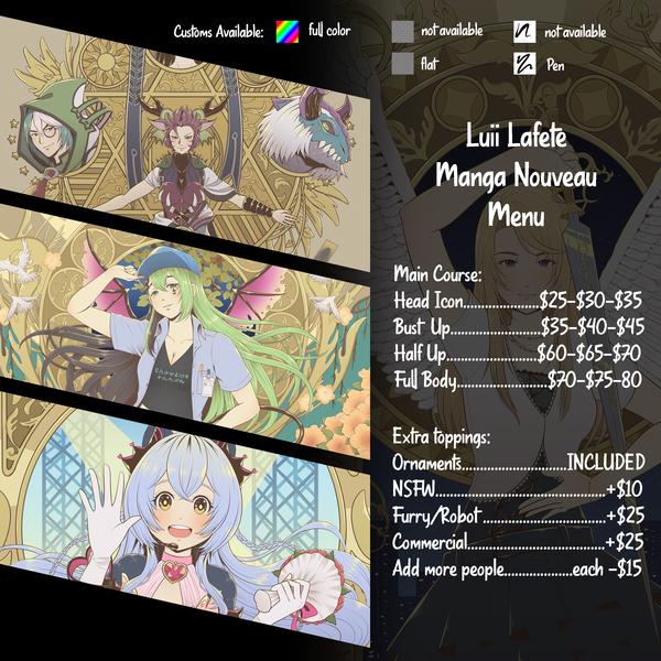 Anime Nouveau Style Icon & Wallpaper