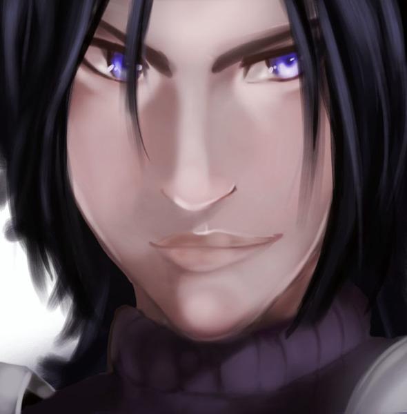 Semi realistic face
