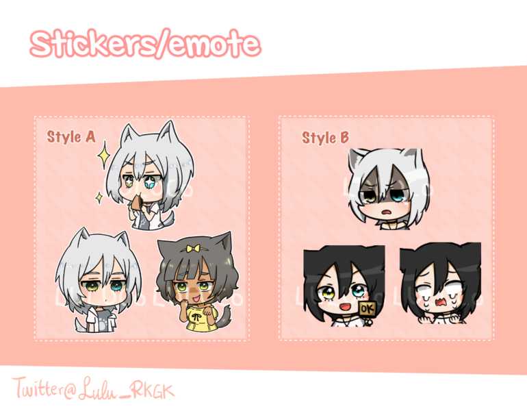 Sticker/Emotes for line etc