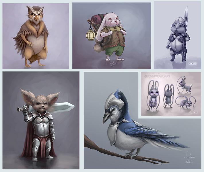 Original Creations (D&D)
