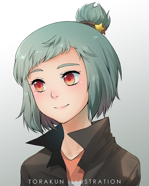 Colored Anime Headshot Artistsclients