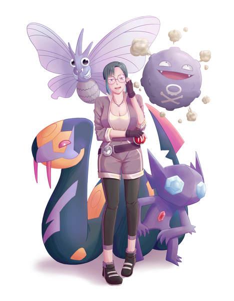 Anime style (Pokemon Trainer)