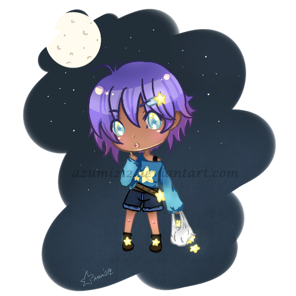 Simple Chibi (cute) character