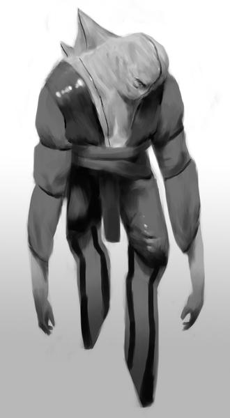 Black & White Creature