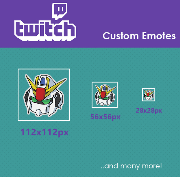 3 Pack Twitch Emotes - Artists&Clients