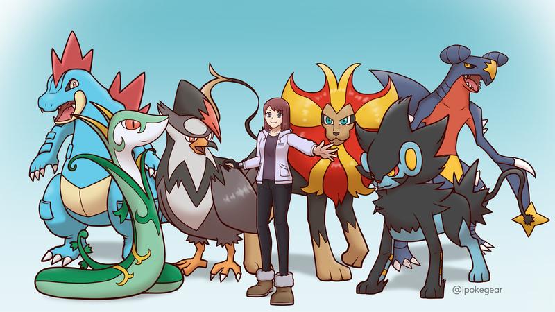 Pokemon Team!