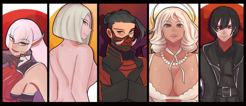 Bust Shot (Full Color)