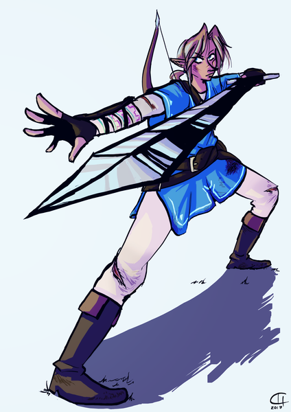 Colored Fullbody Commission