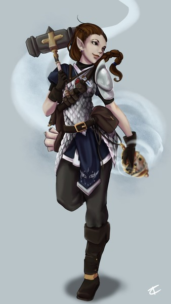 Full Body Character Portrait