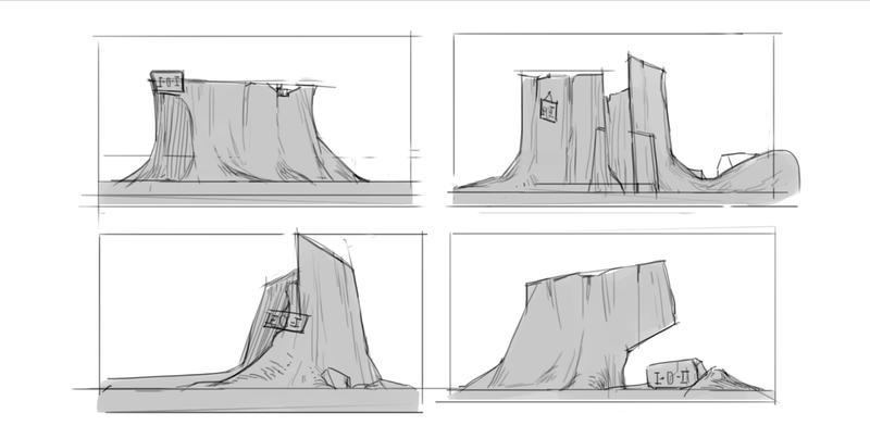 Sketches Illustration B&W