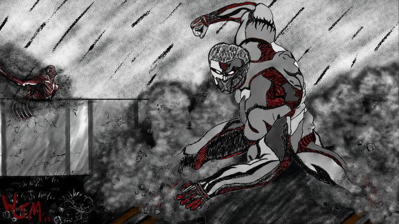 Full Scene Digital Illustration (Full Colour or B&W)