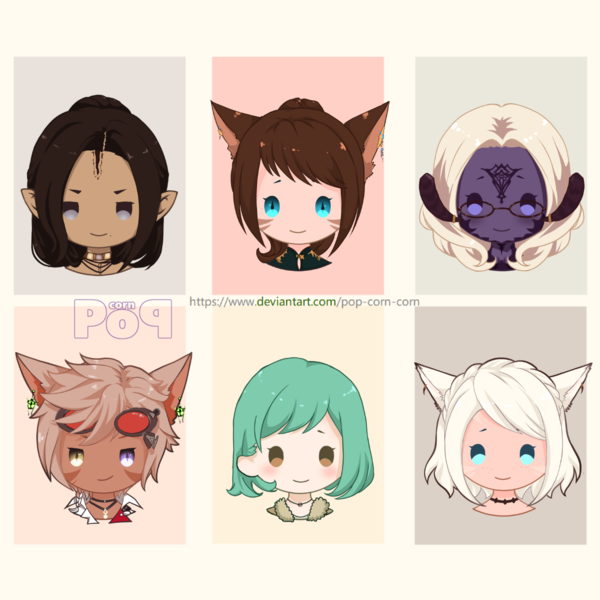 Chibi Headshoot Icon2