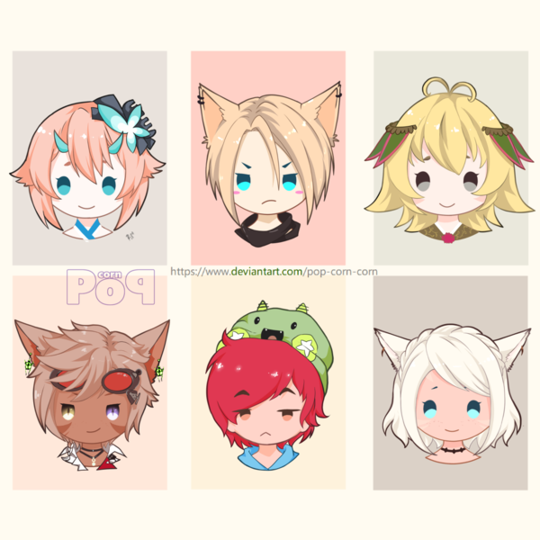 chibi headshoot icon