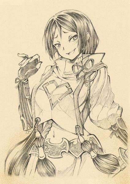 Tofus's Pencil Sketches ( Half Body )