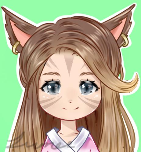 Cute Chibi Icon perfect for social media!
