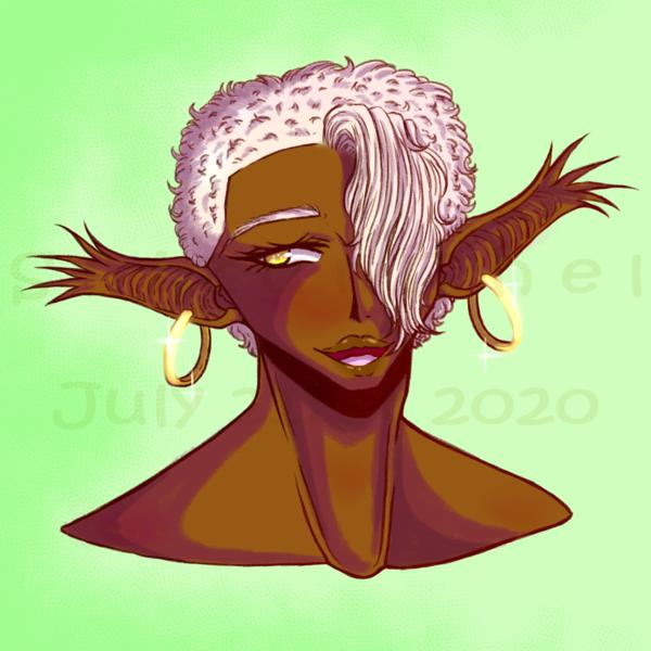 Colored (Headshot)