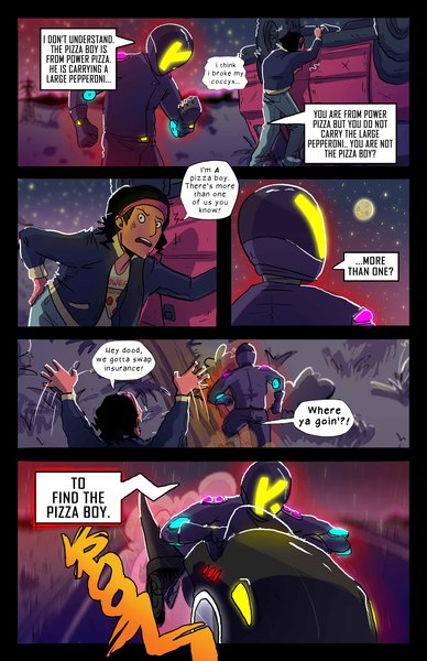 Comic Book Page