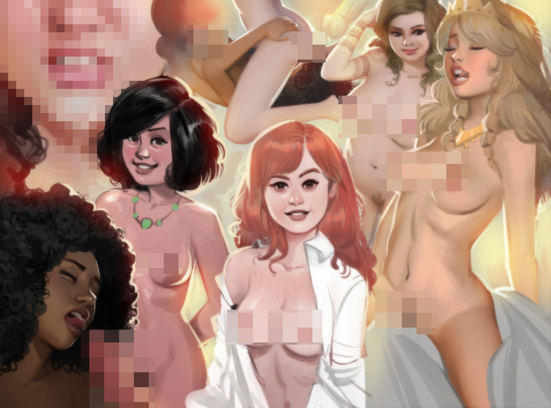 NSFW Full color character art