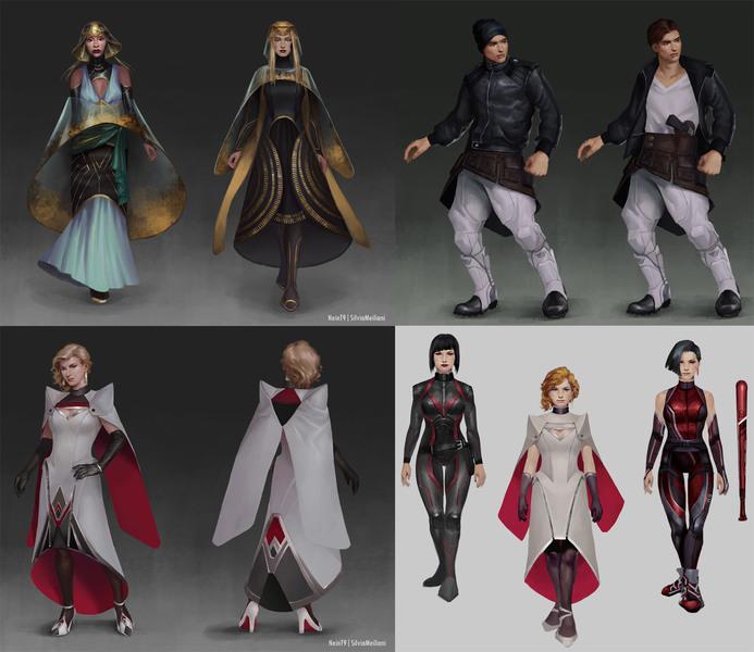 Custom Character Design Concept