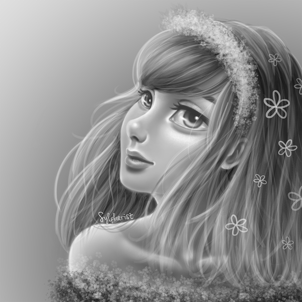 Digital Shaded Portrait
