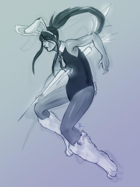 Gradient Sketch, Full Body