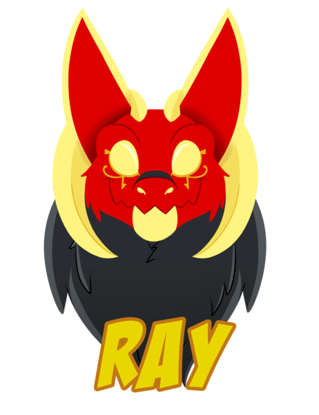 Lineless Furry Badge