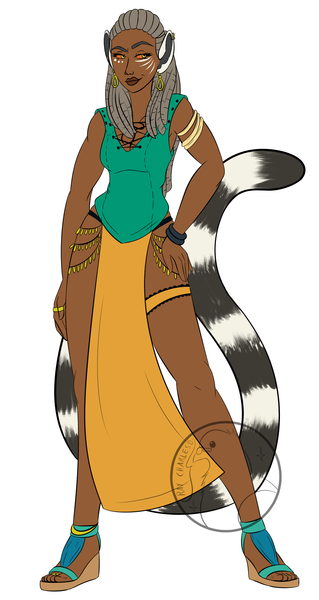 Colored Fullbody Character