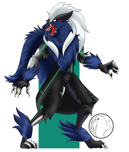 Colored Fullbody Furry/D&D/Anthro