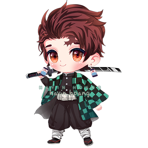Full -Colored Cute Chibi