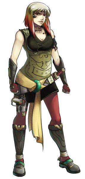 Full Colored Character no BG