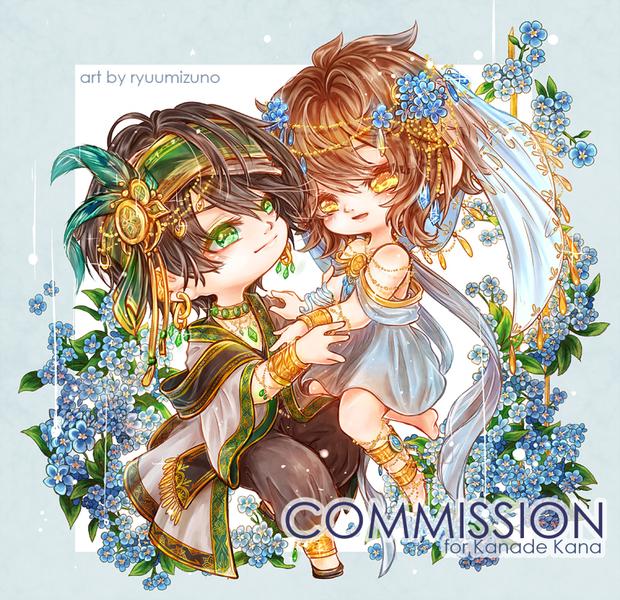 Chibi Fullbody Commission