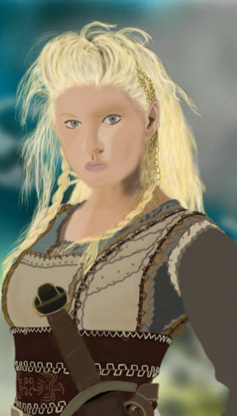 Digital Painted portraits