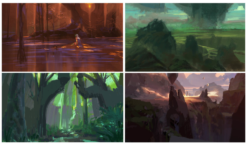 Colour or Concept Painting/ Design