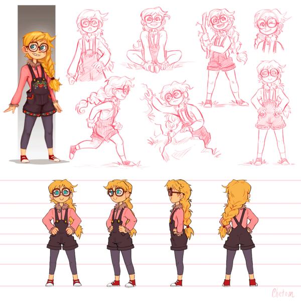 Character Concept Art Design Combo