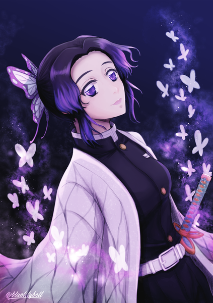 Colored Waist Up Anime Style