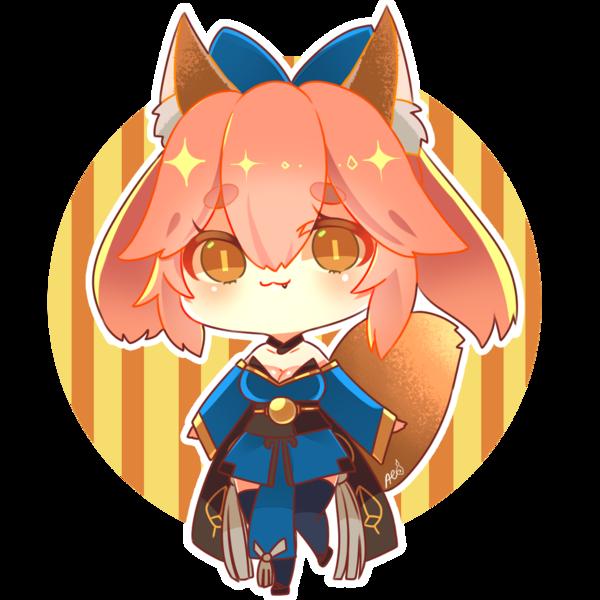 Colored Cute Anime Chibi