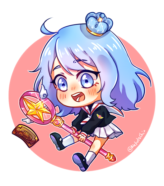 COLORED CUTE CHIBI !