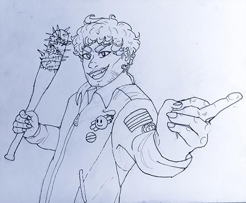 Waist sketch