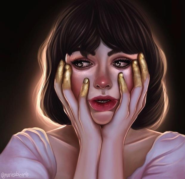 Semi-realistic Portrait