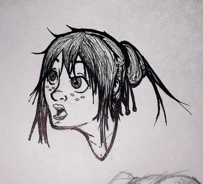 Bocetos medio cuerpo/cabeza