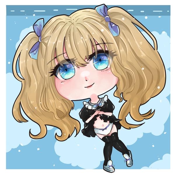 Kawaii Bling-Bling Chibi