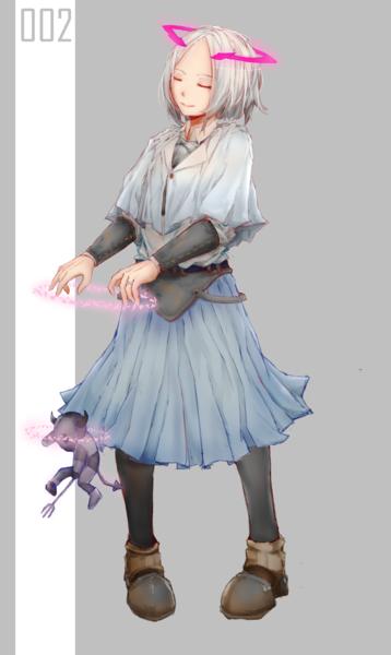 Colored Full-Body Illustration