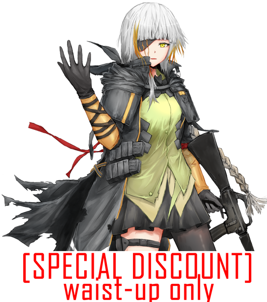 DISCOUNT! Waist-up Colored Illustration